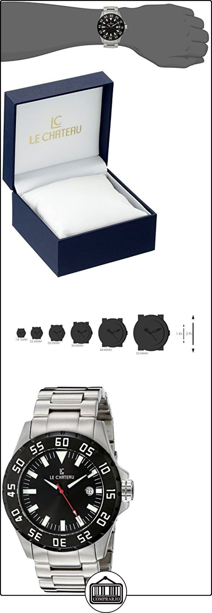 Le Chateau Caballero 7075mssmet_blk Dynamo Automatic See-Thru Reloj  ✿ Relojes para hombre - (Lujo) ✿ ▬► Ver oferta: http://comprar.io/goto/B0054LP9SS
