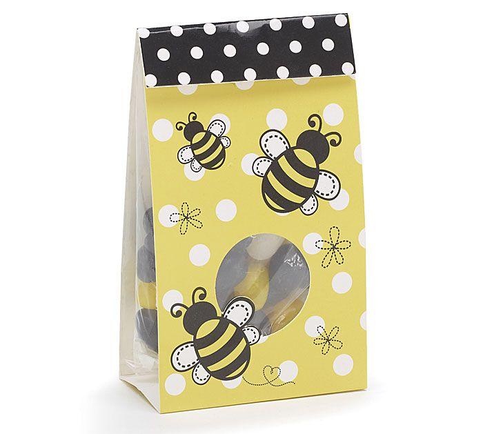 Keep buzzin' with our #burtonandburton Bee Days Gift Bags. #bees #springtime #candy
