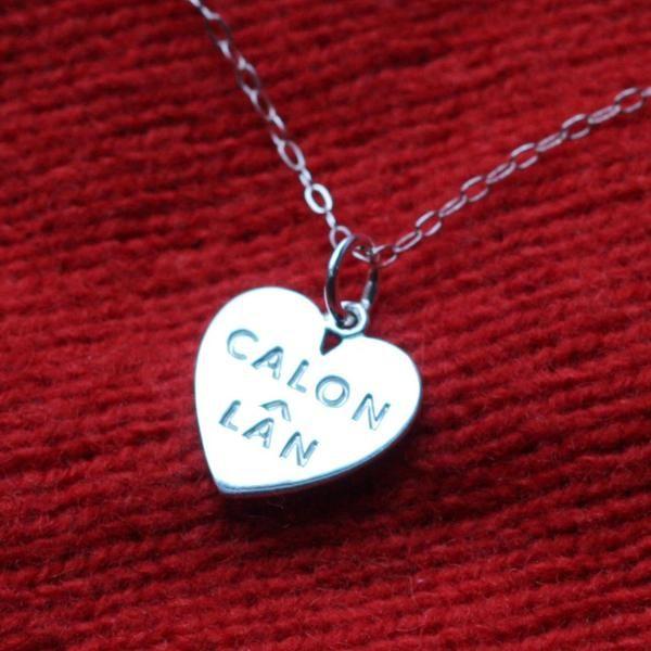 Pendant - Silver - Calon Lan - Large