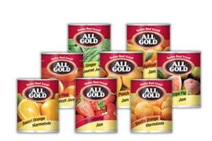 Made from only the finest fruit, ripened to perfection, and preserved for your enjoyment, All Gold quality jams are perfect for tea-time, breakfast or as treat for your kids.
