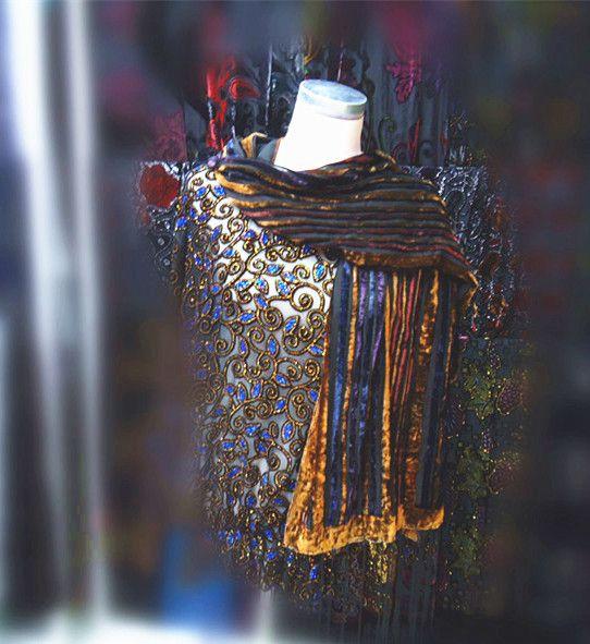 Смешать дизайн шелковый шарф женщин 2015 новый зимний красивая бабочка цветы…