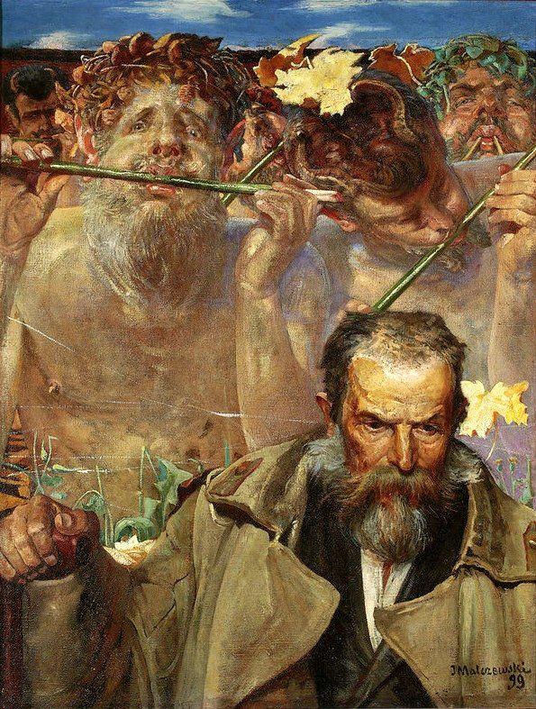 Malczewski - portret Asnyka