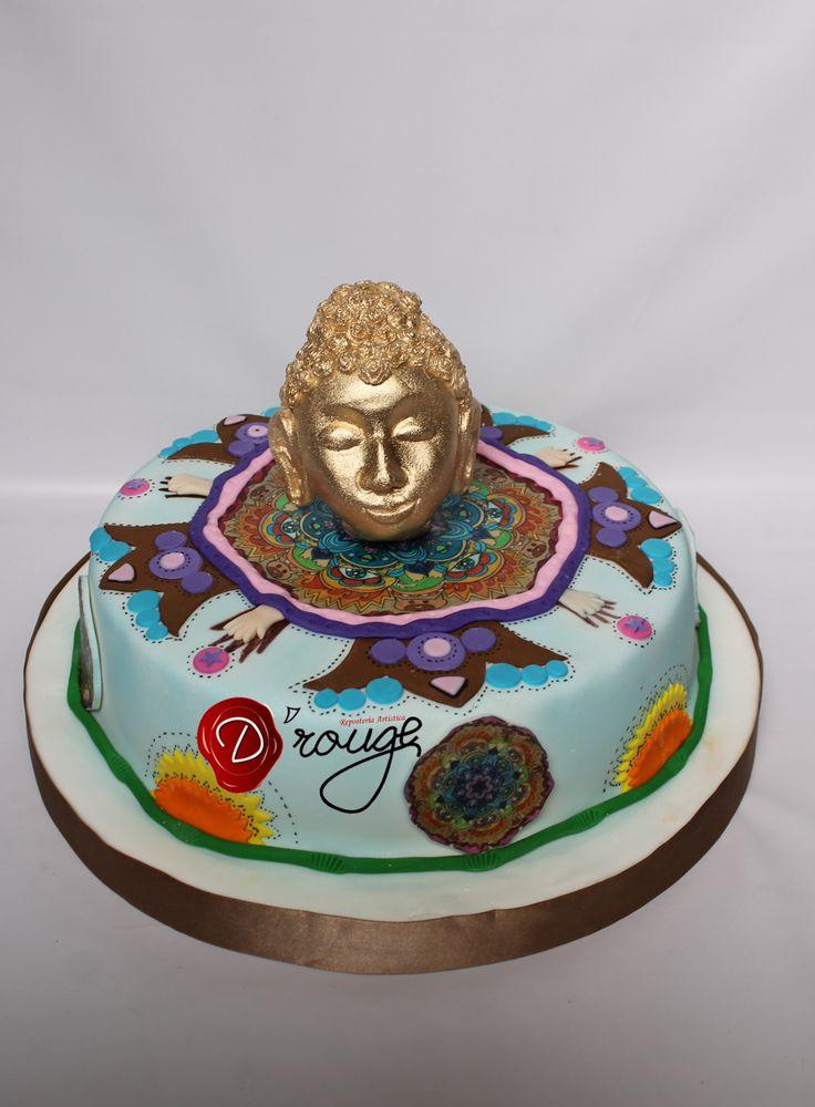 Torta Buda 100% Comestible.