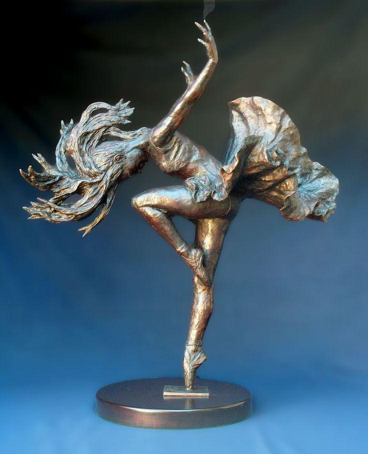 Dancer by Barry Jackson Barry Jackson Bronze Sculpture Prima Ballerina
