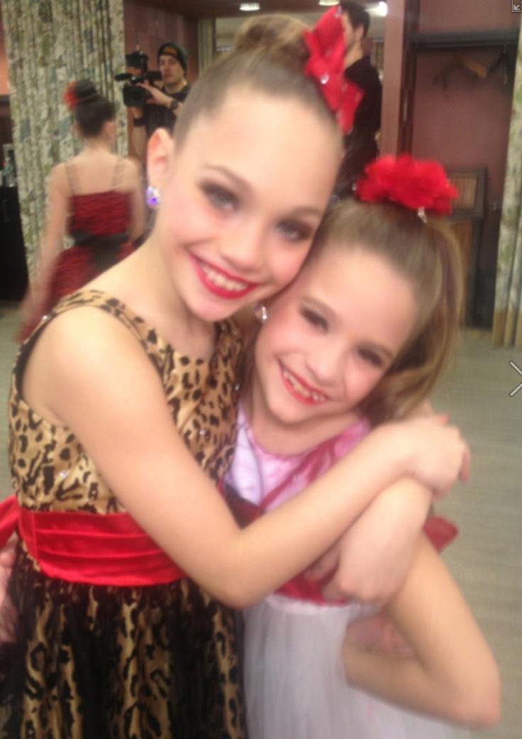 Maddie and Mackenzie Ziegler | Sisters Maddie and ...