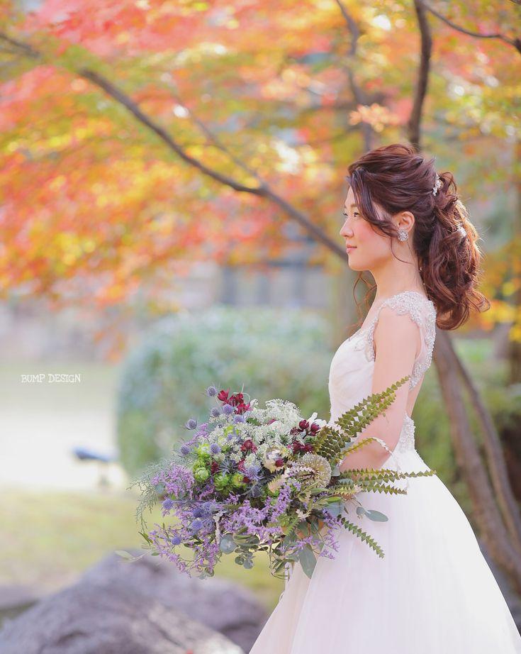 #八勝館 . . 今日は名古屋の八勝館さんで結婚式。 . と #パークバンケット さんでのアフターパーティーの撮影でした。 . 丸一日ずっと撮影させて頂きましたけど . . 何よりも言いたいことは . 全方向、 . どこから見ても素敵な花嫁さんでした。 . 📸 . . #紅葉もドレスもヘアスタイルも素敵 #セウさんの宮地さんありがとうございました #まさかの佐賀県以来のお仕事でしたね笑 . #結婚写真 #プレ花嫁 #卒花嫁 #ブライダル #ウェディング #結婚準備 #ロケーション前撮り #カメラマン #ヘアメイク #前撮り #結婚式前撮り #名古屋花嫁 #和装前撮り #持ち込みカメラマン #ウェディングフォト #2018春婚 #結婚式レポ #東京カメラ部 #日本中のプレ花嫁さんと繋がりたい #日本中の卒花嫁さんと繋がりたい #ウェディングニュース #チェリフォト #marryxoxo #weddingphoto #バンプデザイン