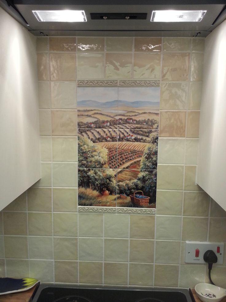 24 best Custom Made Ceramic Tile Murals images on ...