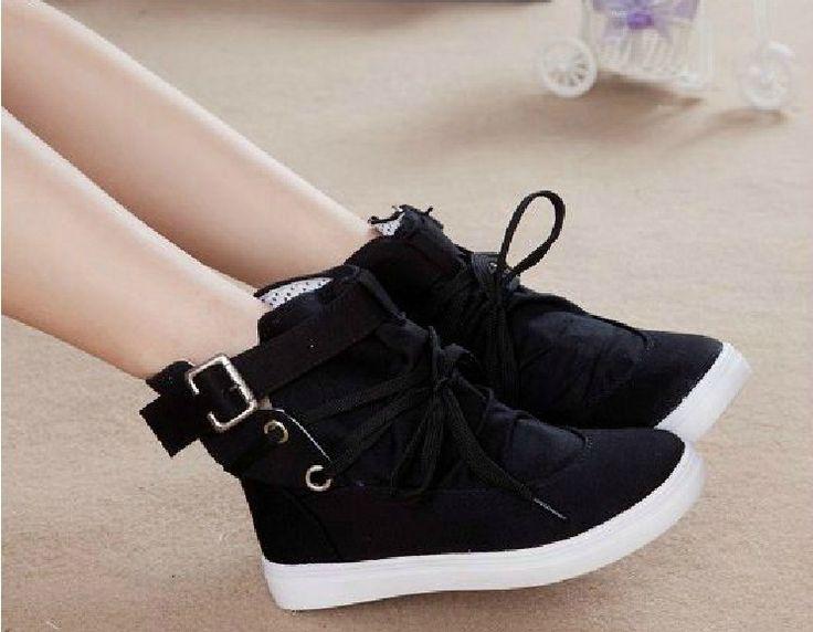 Nestest casuales zapatos de mujer zapatos de invierno zapatos de ocio al aire libre plataformas zapatos deportivos 35 40 zapatillas de deporte del tobillo del vestido del envío libre zapatos de las zapatillas de deporte fro ...