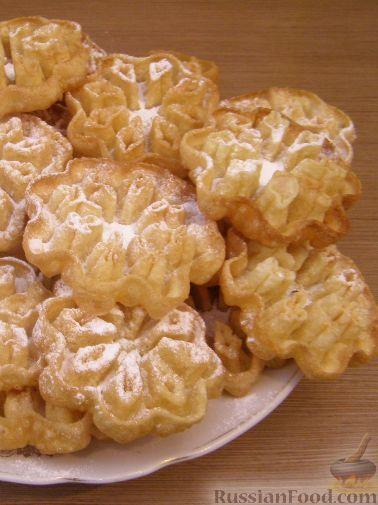 Хрустящий сладкий хворост - 50 рецептов с фото.