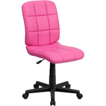 flash furniture midback quilted vinyl swivel task chair multiple colors