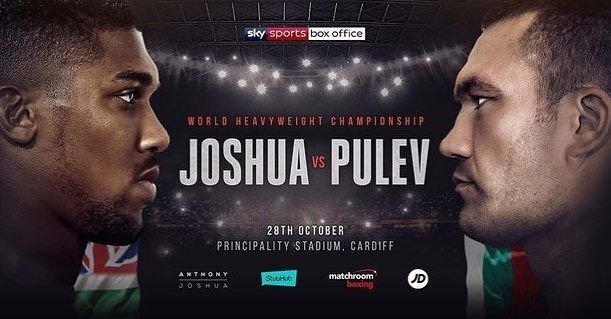 ANTHONY JOSHUA CONTINUES TO BREAK ATTENDANCE RECORDS!  Heavyweight showdown is fastest selling sporting event at Principality Stadium  A record breaking 70,000 tickets have been sold for the World Heavyweight title showdown between Anthony Joshua MBE and Kubrat Pulev at Principality Stadium in Cardiff on October 28, live on Sky Sports Box Office. . . #boxing #boxingnews #heyfightfans #behindthegloves #JoshuaPulev #AnthonyJoshua #KubratPulev #instaboxing