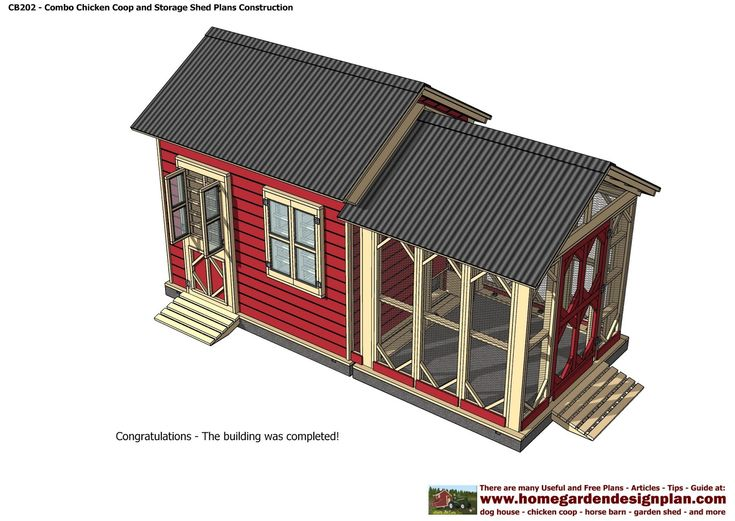 Combo Plans - Playhouse & Storage Sheds Plans