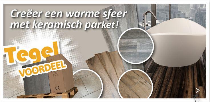 Voor extra Tegel voordeel en de nieuwste interieur ideeen voor bijvoorbeeld uw badkamer, kijk op de website van Tegel & sanitair Depot Zeewolde. Of kom naar onze showroom!
