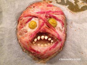 Et mumificeret farshoved på et fad er en sjov måde at servere hverdagsmad omkring Halloween. Og så inspirerer det også til leg med mad, hvor børnene kan være med. Se her, hvordan, du laver et mumie farshoved på CDJetteDCs LCHF
