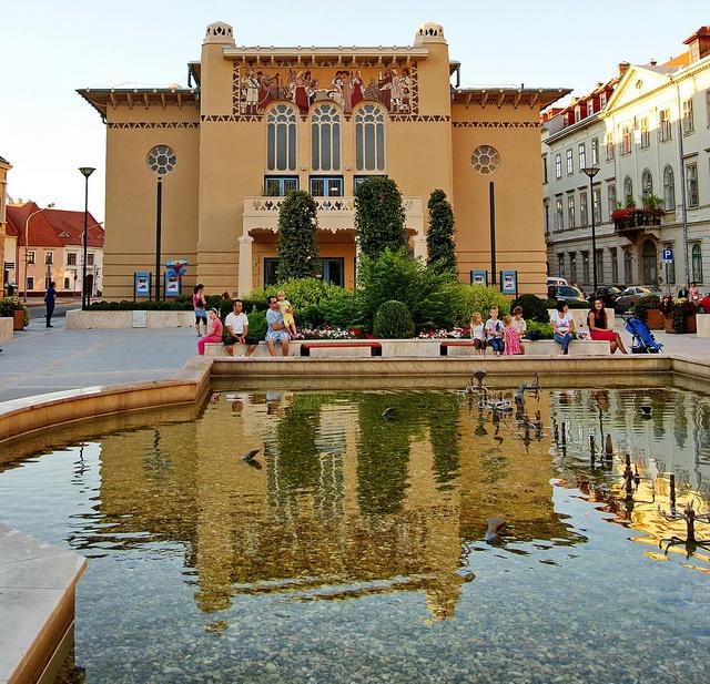 Sopron, Art Nouveau Theater