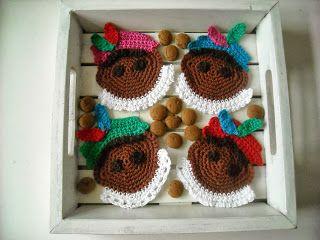 Gratis patronen: Onderzetters zwarte Piet