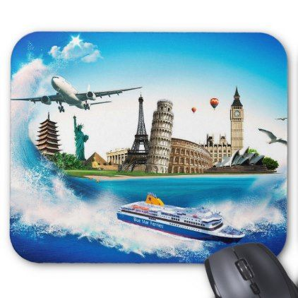 #Travel/n Mouse Pad - #travel #trip #journey #tour #voyage #vacationtrip #vaction #traveling #travelling #gifts #giftideas #idea