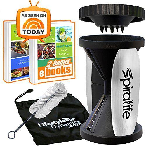 Original SpiraLife Spiralizer Vegetable Slicer – Vegetabl... https://smile.amazon.com/dp/B00L0R9R38/ref=cm_sw_r_pi_dp_U_x_v9lCAbVQJ4R5F