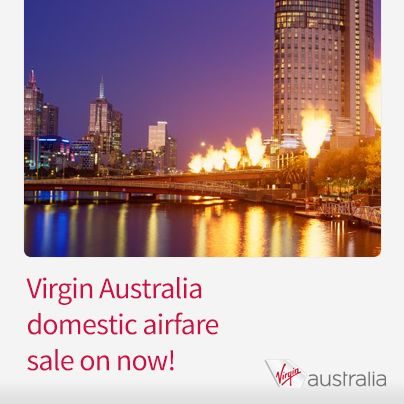 Virgin Australia domestic airfare sale is on now! Hurry, sale ends Monday http://www.corporatetraveller.com.au/virgin-australia-domestic-sale-now-0