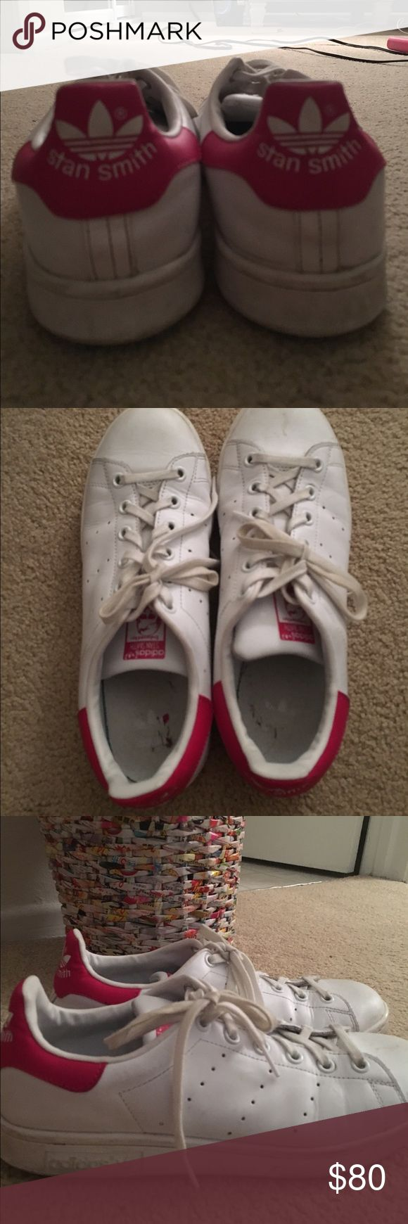 Adidas Stan Smith shoes Stan Smith pink sneakers/ Size: 7 US in Womens adidas Shoes