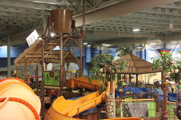 An indoor water park!  #Kalahari Resort in Sanduksy, Ohio! #Frontier neighborhoods.     Frontier.com