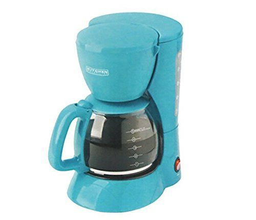 Kitchen Selectives Colors 5 Cup Coffee Maker  TeaTurquoise >>> You can get additional details at the image link.