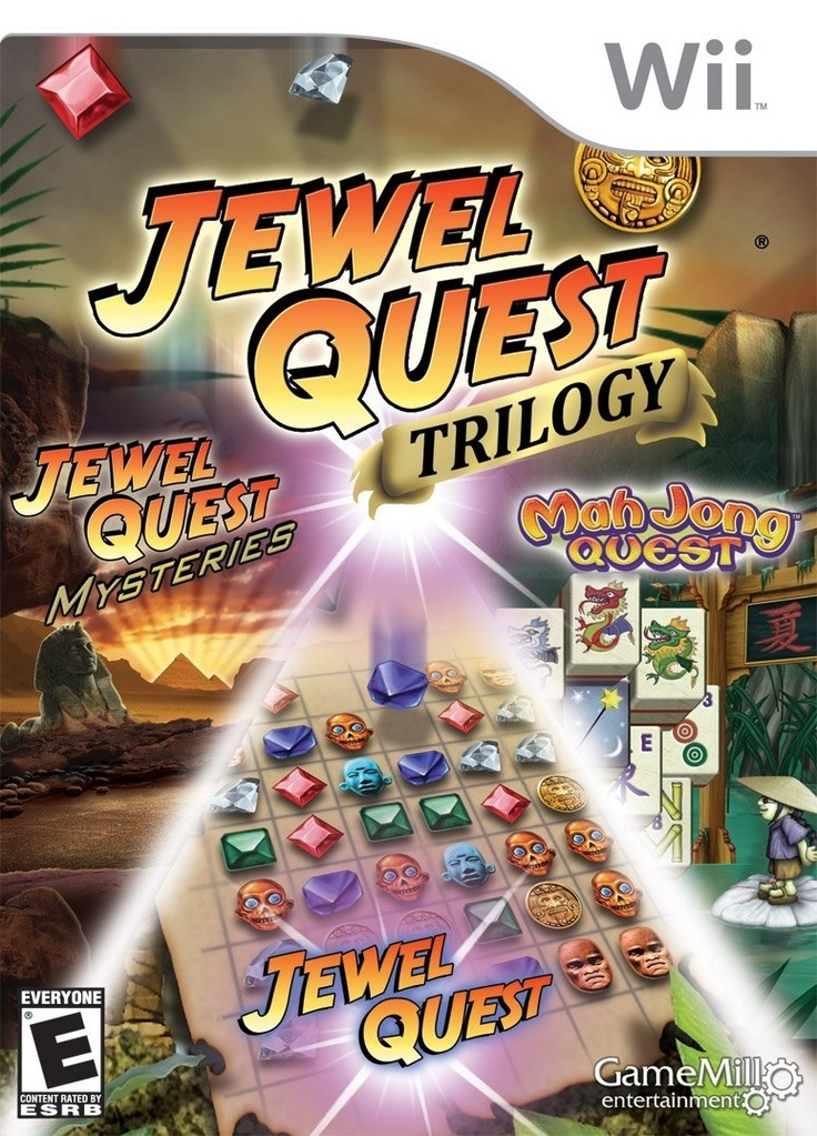 Jewel Quest Trilogy Wii, Strategy puzzle, Trilogy