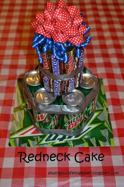 redneck party decorations | Redneck party cake | Party Ideas