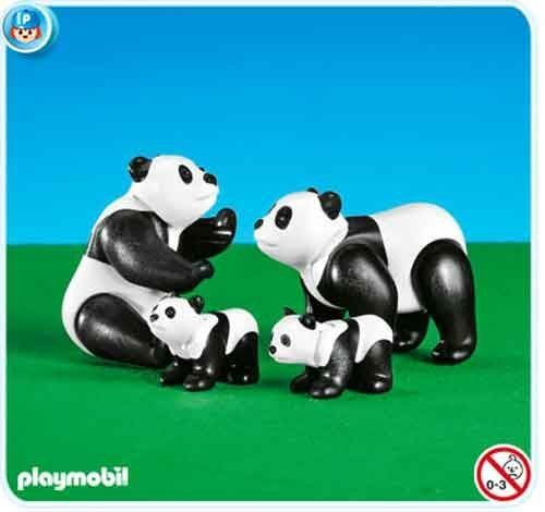Playmobil 7896 Panda Family by Playmobil. $12.48. This item is part of the Direct Service range. This range of products are intended as accessories for or additions to existing Playmobil sets. For this reason these items come in clear plastic bags or brown cardboard boxes instead of a colorful retail box.. Please Note: This item is part of the Direct Service range. This particular range of products are intended as accessories and / or additions to existing Playm...