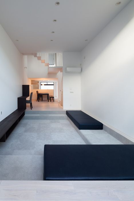 House In Fukasawa By Level Architects Living Pinterest