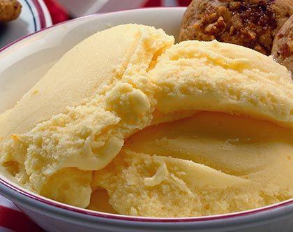 Σπιτικό παγωτό πορτικάλι