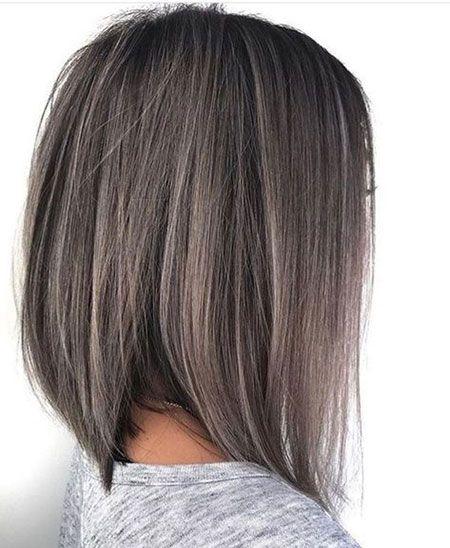 Pilzbraune Haarfarbe – Gesicht