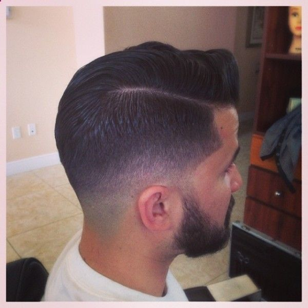 scissor fade haircut low taper faded into beard and scissor the crown and 3844