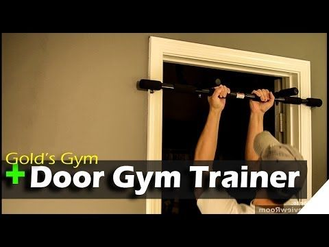Golds Gym Pull Up Bar - Door Gym Trainer - REVIEW