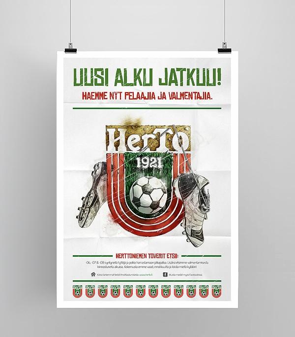 Herttoniemen Toverit - Poster by Olli-Pekka Jauhiainen, via Behance