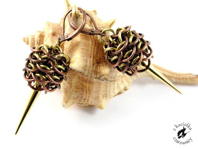 Z kociołka czarownicy: Smocze gniazdo - Dragon Egg earrings
