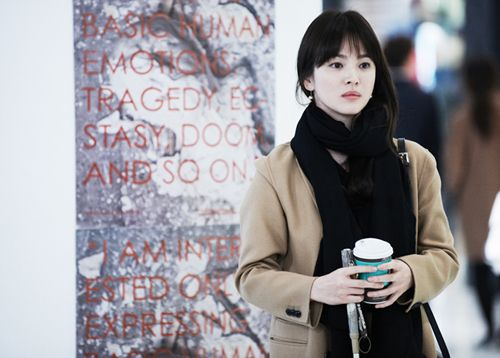 Still cut of Song Hye Kyo revealed for upcoming SBS drama 'Wind Blows in Winter'