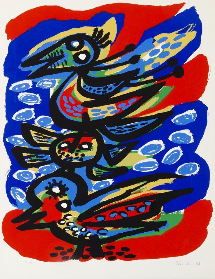 Anton Rooskens CoBrA - avant-garde movement