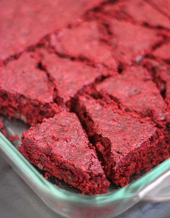 Red Velvet Santa Hat Brownies... such a simple and cute idea!