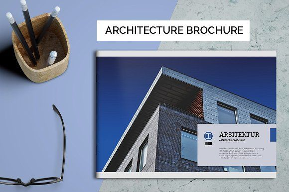Architecture Brochure by Kreatype Studio on @creativemarket
