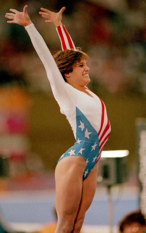 """Mary Lou Retton- """"As simple as it sounds, we all must try to be the best person we can: by making the best choices, by making the most of the talents we've been given"""". First American to win the all-around gymnastics title at the 1984 Olympics in LA.Also took home medals in 4 other events in those Games: silver in team competition and vault, bronze in uneven bars & floor exercise, & was named SI's """"Sportswoman of the Year."""" Photo: Andy Hayt/SI"""