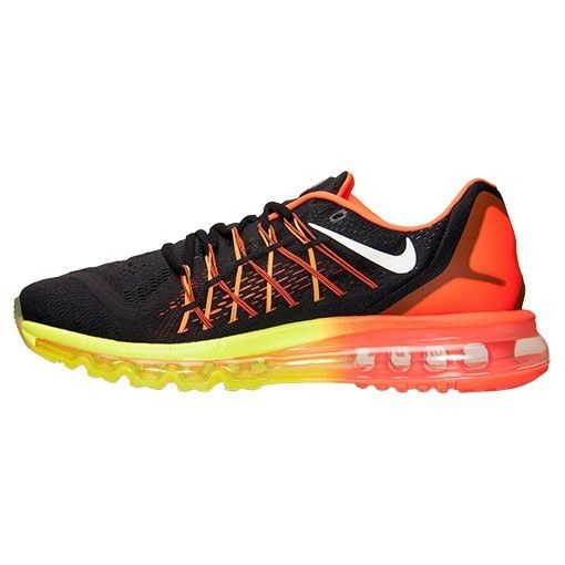 info for 8a0b3 82e93 Nike Air Max 2015 Mens Sneakers Black White Hyper Crimson Yellow 698902 004