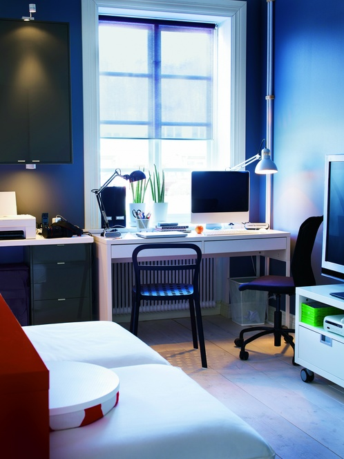 Comfortable 2012 IKEA Room Decorating And Home Office Design Decoration