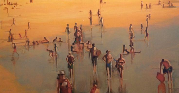 'Beach Series i' by Joe Blundell www.tuskgallery.com.au