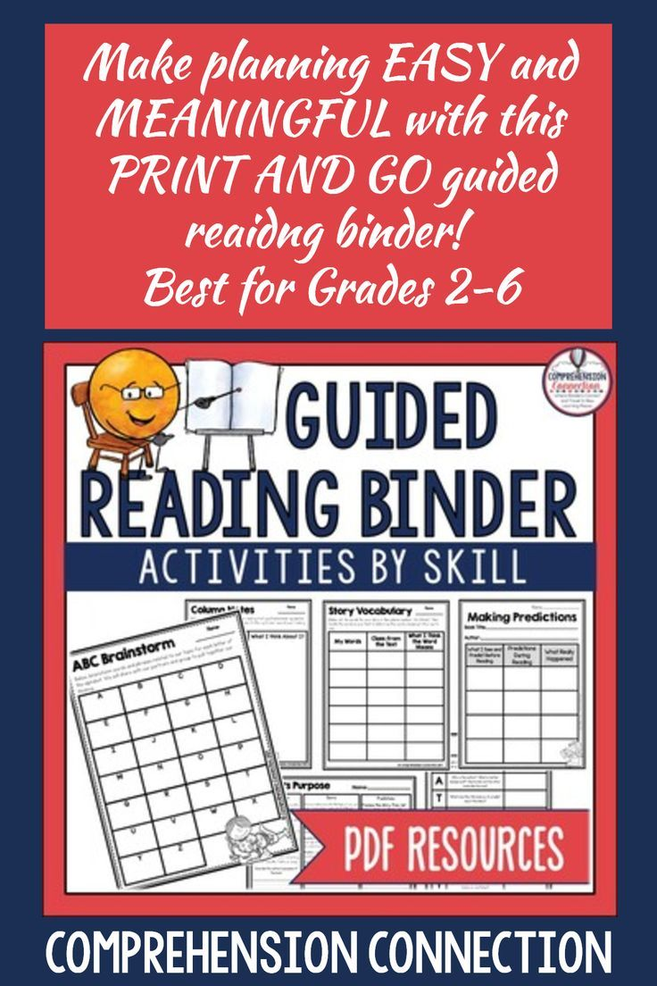 Guided Reading Binder Pdf Version Distance Learning Guided Reading Binder Reading Binder Guided Reading Guided reading questions pdf