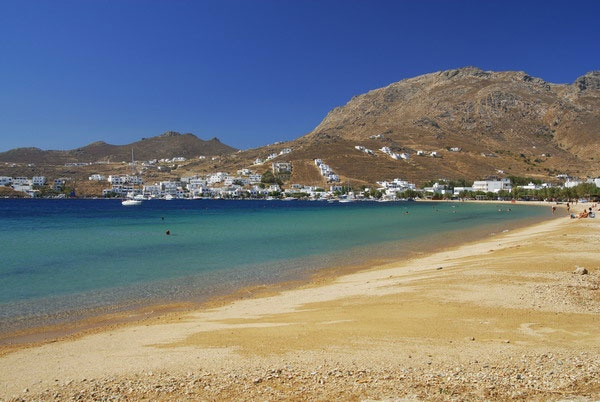 Serifos, Greece. Avlomonas Beach
