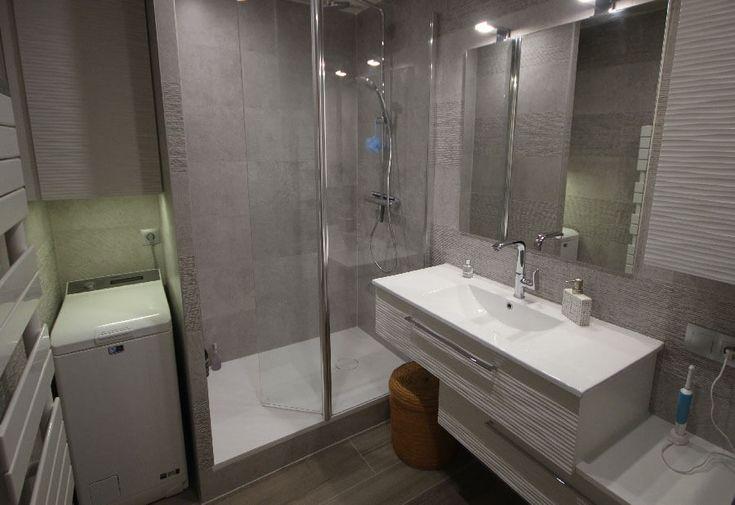 25 best ideas about lave linge sur pinterest collier for Meuble salle de bain lave linge