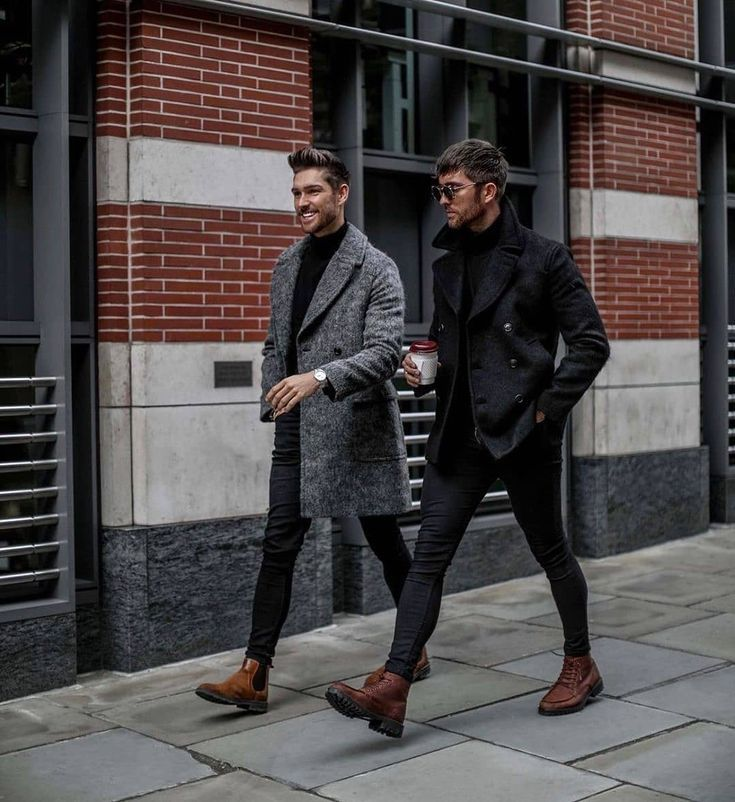jeans, overcoat, jacket, boots, chelsea boots, coltrui, stijl, stijlvol, style, mannen, mode
