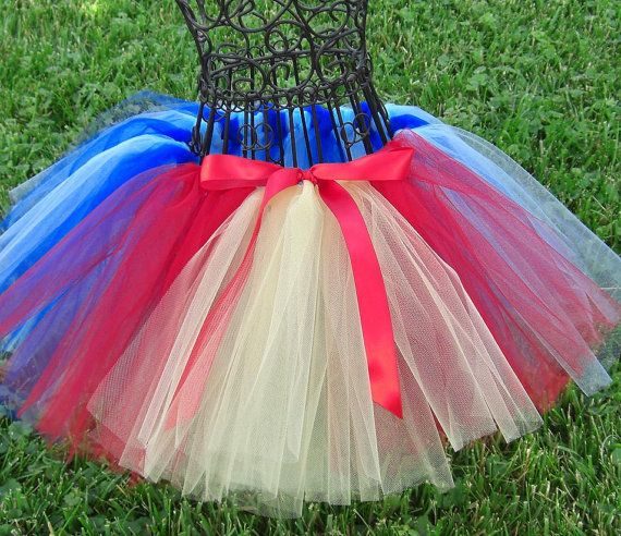 Snow White tutu- Girls Snow White Tutu- Princess Tutu- Baby Snow White Costume- Blue Tutu, Yellow Tutu, Red tutu- Disney Costume on Etsy, $21.50
