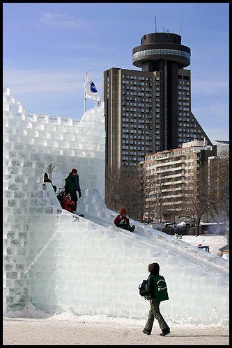 quebec city fun | ... sleding at the 2007 Quebec City Winter Carnival (Carnaval de Quebec